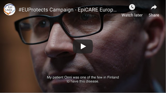 #EUProtects Campaign – EpiCARE European Reference Network for Rare and Complex Epilepsies